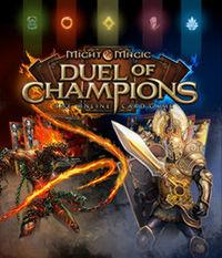 Portada oficial de Might & Magic: Duel of Champions para PC
