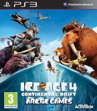 Portada oficial de Ice Age 4: La formación de los continentes – Juegos en el Ártico para PS3