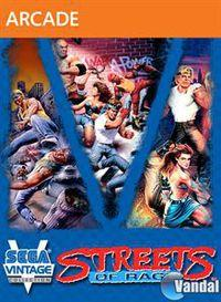 Portada oficial de Sega Vintage Collection: Streets of Rage XBLA para Xbox 360