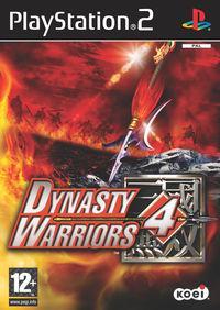 Portada oficial de Dynasty Warriors 4 para PS2
