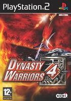 Portada oficial de de Dynasty Warriors 4 para PS2
