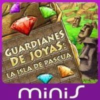 Portada oficial de Guardianes de Joyas: La Isla de Pascua Mini para PSP