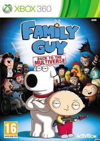 Portada oficial de Family Guy: Back to the Multiverse para Xbox 360