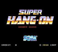 Portada oficial de Super Hang-On CV para Wii