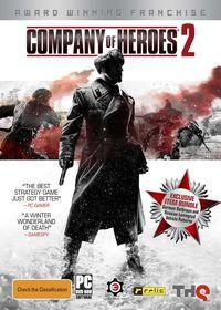Portada oficial de Company of Heroes 2 para PC