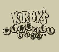 Portada oficial de Kirby's Pinball Land CV para Nintendo 3DS