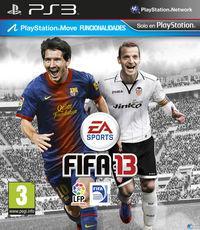 Portada oficial de FIFA 13 para PS3
