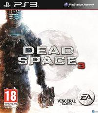 Portada oficial de Dead Space 3 para PS3