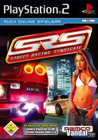 Portada oficial de Street Racing Syndicate para PS2