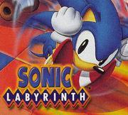 Portada oficial de Sonic Labyrinth CV para Nintendo 3DS
