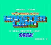 Portada oficial de Wonder Boy in Monster Land (Arcade) CV para Wii