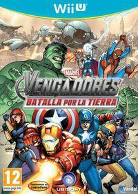 Portada oficial de Los Vengadores: Batalla por la Tierra para Wii U