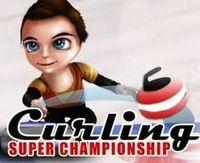 Portada oficial de Curling Super Championship DSiWare para NDS