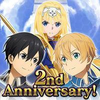 Portada oficial de Sword Art Online: Memory Defrag para Android