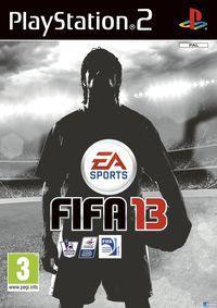 Portada oficial de FIFA 13 para PS2