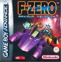 Portada oficial de F-Zero: Maximum Velocity para Game Boy Advance