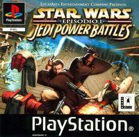 Portada oficial de Star Wars: Jedi Power Battles para PS One
