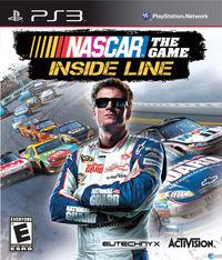 Portada oficial de NASCAR The Game: Inside Line para PS3