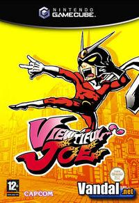 Portada oficial de Viewtiful Joe para GameCube