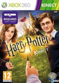 Portada oficial de Harry Potter para Kinect para Xbox 360