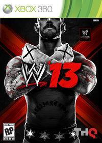 Portada oficial de WWE 13 para Xbox 360