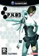 Portada oficial de de P.N.03 para GameCube