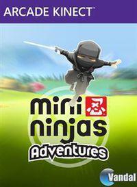Portada oficial de Mini Ninjas Adventures XBLA para Xbox 360