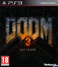 Portada oficial de Doom 3 BFG Edition para PS3