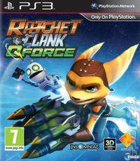 Portada oficial de Ratchet & Clank: QForce para PS3