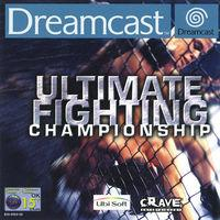 Portada oficial de Ultimate Fighting Championship para Dreamcast