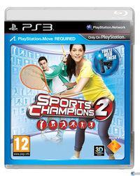 Portada oficial de Sports Champions 2 para PS3