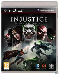 Portada oficial de Injustice: Gods Among Us para PS3