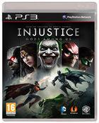 Portada oficial de de Injustice: Gods Among Us para PS3