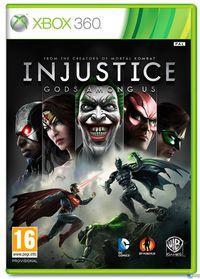 Portada oficial de Injustice: Gods Among Us para Xbox 360