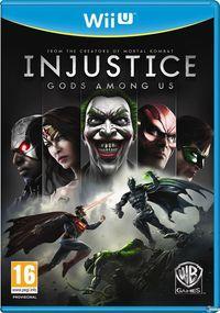 Portada oficial de Injustice: Gods Among Us para Wii U