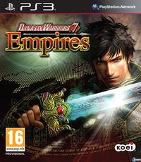 Portada oficial de Dynasty Warriors 7 Empires para PS3