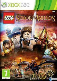 Portada oficial de LEGO El Señor de los Anillos para Xbox 360