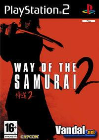 Portada oficial de Way of the Samurai 2 para PS2