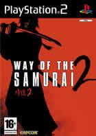 Portada oficial de de Way of the Samurai 2 para PS2