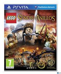 Portada oficial de LEGO El Señor de los Anillos para PSVITA