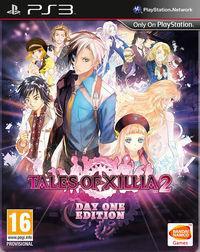 Portada oficial de Tales of Xillia 2 para PS3