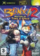Portada oficial de de Blinx 2: Dueños del Tiempo y Espacio para Xbox