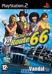Portada oficial de The King of Route 66 para PS2