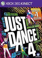 Portada oficial de de Just Dance 4 para Xbox 360