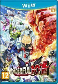 Portada oficial de The Wonderful 101 para Wii U