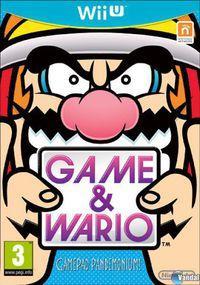 Portada oficial de Game & Wario para Wii U