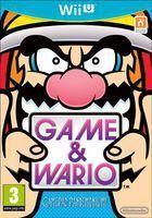 Portada oficial de de Game & Wario para Wii U