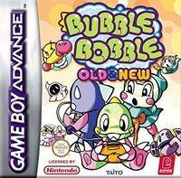 Portada oficial de Bubble Bobble: Old & New para Game Boy Advance