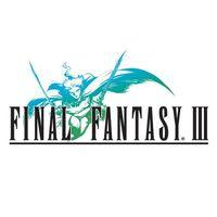 Portada oficial de Final Fantasy III PSN para PSP