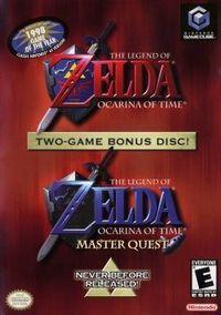 Portada oficial de The Legend of Zelda: Ocarina of Time Master Quest para GameCube